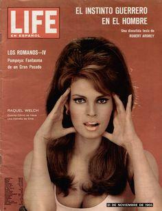 Raquel Welch, Life Magazine Cover.