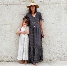 Duo Anna Kids/Mum - Dress - PDF Sewing Pattern – Ikatee