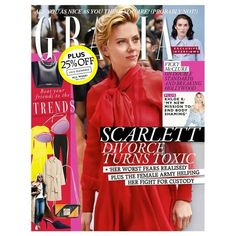 In this weeks Grazia we bring you the latest on Scarlett Johanssons toxic divorce plus an exclusive interview with Vicky McClure on breaking Hollywood. Meanwhile in fashion weve got the below the radar brands you need to know now (before your friends) plus in beauty we investigate the rise of tweakments  treatments that dont involve going under the knife. Dont miss it  subscribe now!  via GRAZIA UK MAGAZINE OFFICIAL INSTAGRAM - Fashion Campaigns  Haute Couture  Advertising  Editorial…
