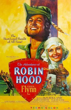 The adventure of Robin Hood! Errol Flynn! Of course you know this movie ;) But it is still a must!