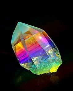 Lemurian Seed Crystal, Rainbow Color Art, Crystal Healing Reiki, Energy Healing,Chakra Healing Art, Spiritual Art, Yoga Art, Meditation Tool