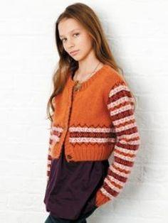 Free Knitting Pattern - Girl's Clothes: Harper Cardigan