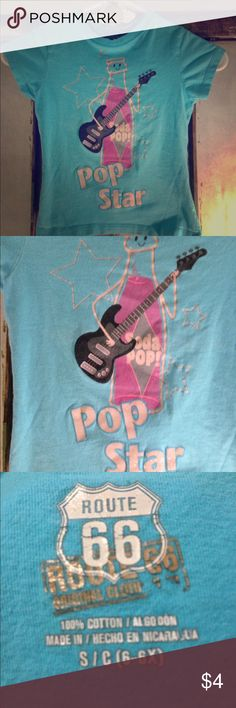 Girls T-Shirt Size 6x Girls T-Shirt Size 6x Route 66 Shirts & Tops Tees - Short Sleeve