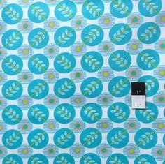 Flying Bulldogs, Inc. - Erin McMorris PWEM040 LaDeeDa Flora Dots Aqua Fabric By The Yard, $7.25 (http://www.flyingbulldogs.com/erin-mcmorris-pwem040-ladeeda-flora-dots-aqua-fabric-by-the-yard/)