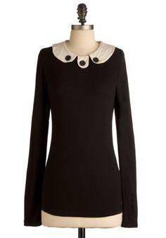 The Mod Couple Top | Mod Retro Vintage Long Sleeve Shirts | ModCloth.com - StyleSays