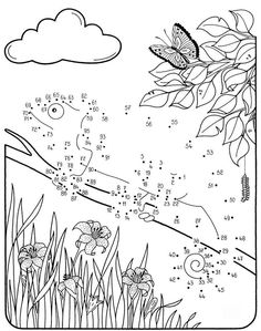 Connect The Dots, Ferdinand, Free Coloring Pages, Activities, Tattoo, Drawings, Blog, Kids, Young Children