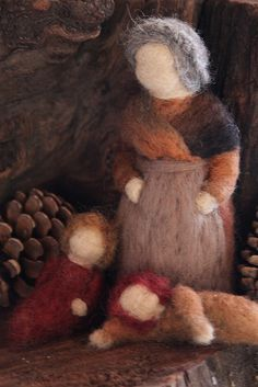 felted mother earth