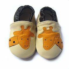 iBaste Premium Baby Leder Lauflernschuhe Krabbelschuhe Rutschfest Babyschuhe Baby Schuhe Eichhörnchen 6 bis 24 Monate - http://on-line-kaufen.de/ibaste-9/ibaste-premium-baby-leder-lauflernschuhe-baby-6-5