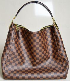 Louis Vuitton Portobello Bag from the Damier Ebene Collection