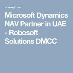 Microsoft Dynamics NAV Partner in UAE - Robosoft Solutions DMCC