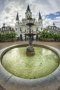 Jackson Square & St. Louis Cathedral, New Orleans