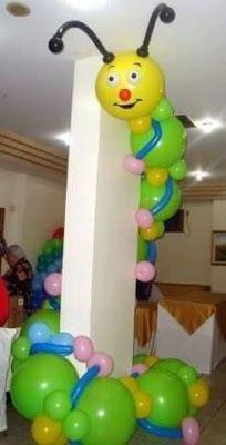 Para cualquier fiesta infantil o evento, siempre es primordial hacer alguna decoración con globos, ya sea para un cumpleaños, fiesta, cumpl...