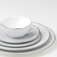 Wedgwood Jasper Conran - Pin Stripe Dinnerware | Artedona.com