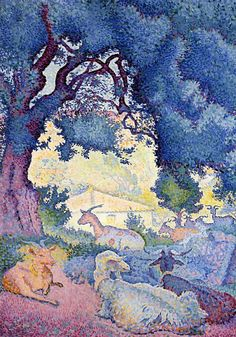Le pont a Chatu Auguste Grösse 80x60 Kunstdruck Artprint Renoir