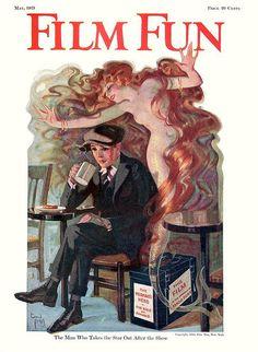 Film Fun, art by Enoch Bolles
