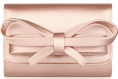 valentino-satin-bow-box-clutch. Very unaffordable at $845