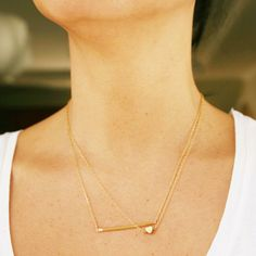 Love these delicate necklaces