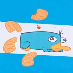 Pin the Tail on Perry A perfect party game for summer. No peeking! #DIY #tips #ideas