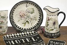 French Country dinnerware