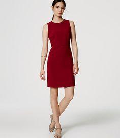 Image of Paneled Sheath Dress