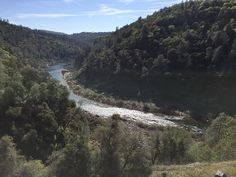 From the north side of Knickerbocker Canyon, North Fork American River winds around Auburn headed to Folsom Lake.