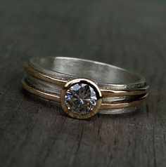 No way... Silver Rings With Gemstone!