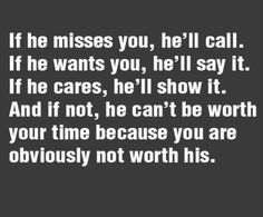 he doesn t want you anymore