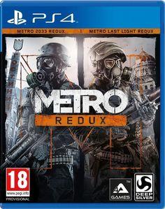 L'édition METRO REDUX comprend les versions entièrement remastérisées et améliorées de METRO 2033 et de METRO: LAST LIGHT, afin de proposer l'expérience Metro la plus impressionnante jamais vue.  #MetroRedux #PS4 #XBOXONE #PC #JeuxVideo #Metro2033 #MetroLastLight