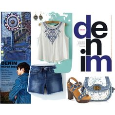 Out-Denim Yourself! by joybug9 on Polyvore featuring Boden, Flogg and Silver Forest