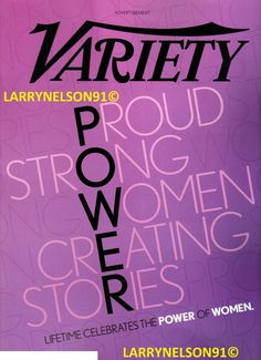 Variety Magazine, Lorde, Read More, Strong Women, Magazines, September, Language, Learning, Journals