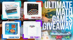 Join me in The Ultimate Math Games Giveaway by NumRush! - https://www.numrushmathgame.com/giveaway/ #numrushmathgame #giveaway