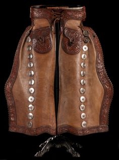 Tom Mix's Personal Batwing Chaps. Brian Lebel's Mesa Auction - January 21, 2017 Sold $19,550