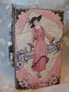 Graphic 45 A Ladies Diary journal mini album