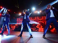 Backstreet Boys em São Paulo (Foto: Flavio Moraes / G1)