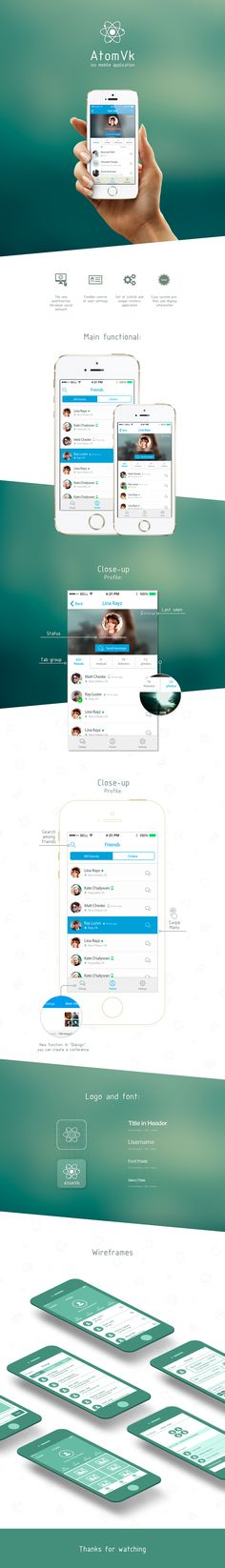 New social network for iOS - Atomvk https://itunes.apple.com/ru/app/atom-dla-vkontakte/id882536208?mt=8