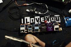 Warpaint - bass effect pedals