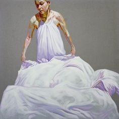 Cristina Troufa - Contemporary Artist - Figurative Painting - Dust - 2014