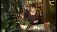 Ботаника. Композиция со свечами