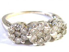 Antique diamond ring 0.83 ct (Luxusní starožitný briliantový prsten 0.83 kt)  #ring #jewelry #rings #diamond #diamondring #antique https://autorskesperky.com/en/rings/11-antique-diamond-ring-083-ct.html