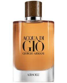 Giorgio Armani Men s Acqua di Gio Absolu Eau de Parfum Spray, 4.2-oz. 74b6c72b50