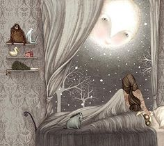 Beautiful illustration by artist Lisa Evans.