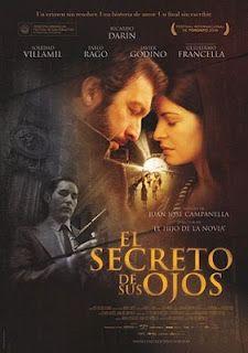 My Favorite movie of 2009: Beautiful Soledad Villamil: The Secret in her Eyes - El Secreto De Sus Ojos de Juan José Campanella, 2009