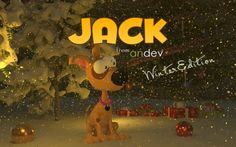 Jack 3D Winter's Tale Platform game for android by Andev.