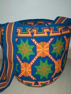 Wayuu Mochila bag de 1 ebra