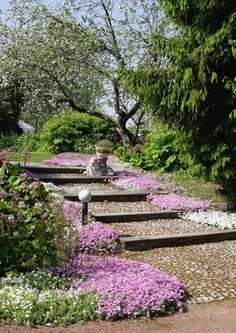 Puutarhan portaat – 9 näyttävää toteutusta | Meillä kotona