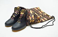 Lupe Fiasco is always busy! In addition to his music career, Lupe has worked on several different clothing collaborations, the latest of them being the Vans OTW for his very own Stovepipe sneaker. Skate Shoes, Men's Shoes, Dress Shoes, Lupe Fiasco, Vans Style, Desert Boots, Combat Boots, Kicks, Street Wear