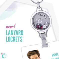 It's time for another exclusive first look at the 2014 Origami Owl Living Lockets fall launch! This is the brand new Lanyard Locket for stylish professionals Stay tuned for more sneak peeks! www.trinamarie.origamiowl.com