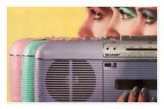 #Thursday #vibes ! #vintage #retro #sharpradio #pastel #eyemakeup #inspo #eighties #nineties #oldschool #radio #sound #fashion #fblogger #relived #revived #fashionista #style #styleblogger #happythursday #goodvibes #pearlsandvagabonds
