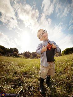 Little Clark Kent - Homemade costumes for boys