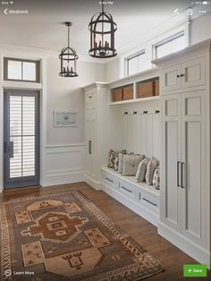 Jeremy- I like the idea of a coat closet on the side of the bench. But whatever you think looks best!! Entryway Cabinet, Entryway Closet, Bench For Entryway, Kitchen Entryway Ideas, Dinning Room Ideas, Closet Mudroom, Mudroom Laundry Room, Foyer Ideas, Modern Entryway
